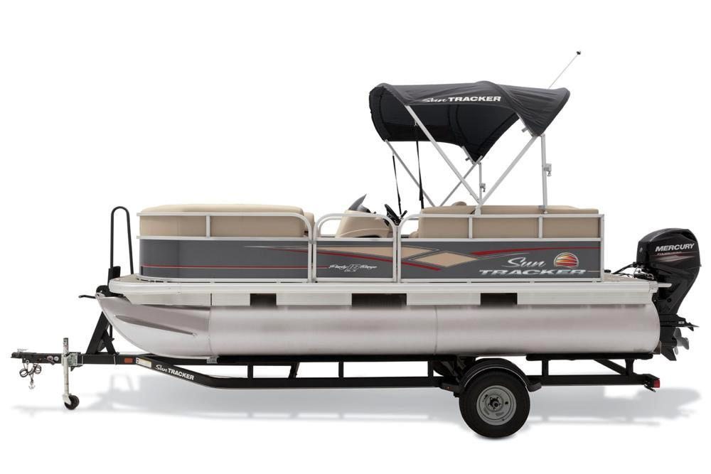2019 Sun Tracker Party Barge 18 DLX in Rapid City, South Dakota