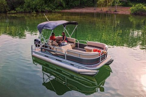 2019 Sun Tracker Party Barge 18 DLX in Gaylord, Michigan - Photo 8