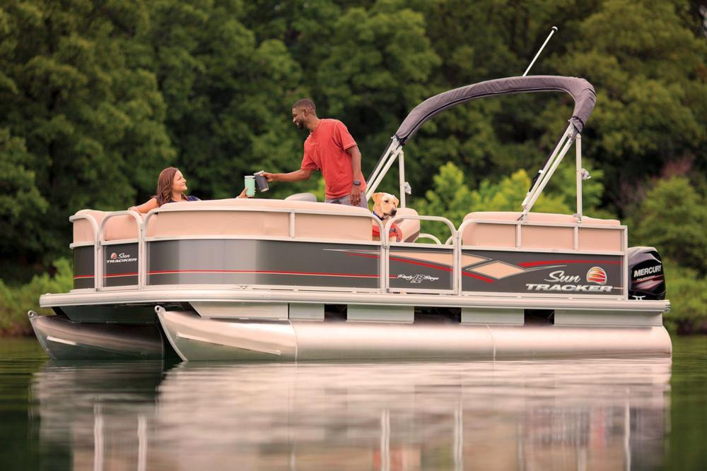 2019 Sun Tracker Party Barge 18 DLX in Waco, Texas - Photo 6