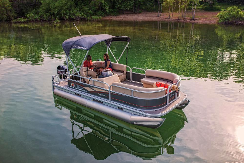 2019 Sun Tracker Party Barge 18 DLX in Waco, Texas - Photo 8