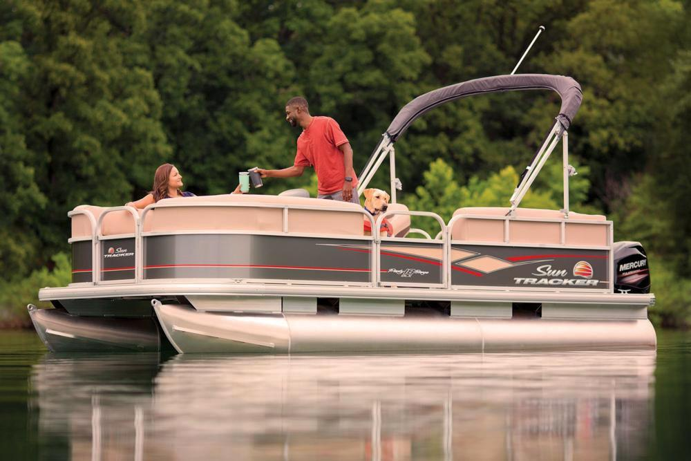 2019 Sun Tracker Party Barge 18 DLX in Waco, Texas - Photo 10