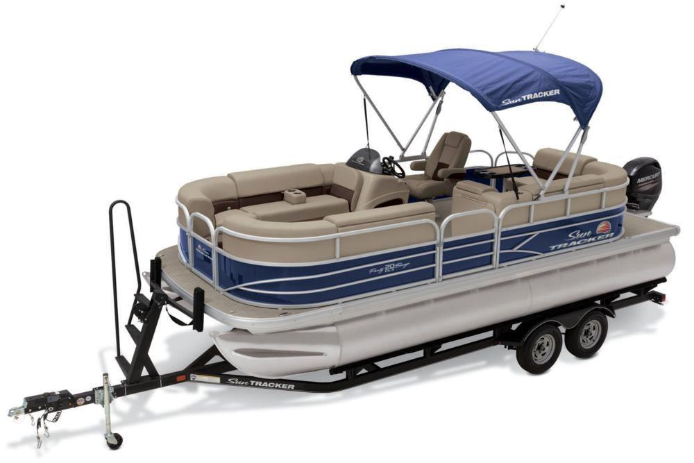 2019 Sun Tracker Party Barge 20 DLX in Rapid City, South Dakota