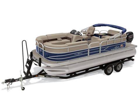 2019 Sun Tracker Party Barge 20 DLX in Gaylord, Michigan
