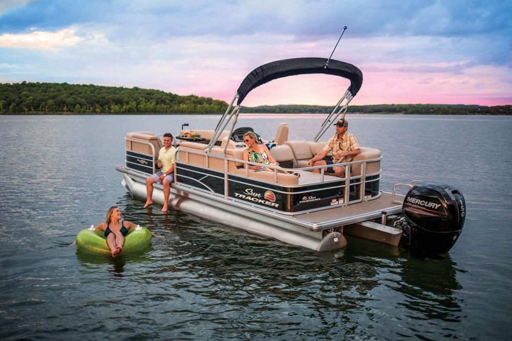 2019 Sun Tracker Party Barge 22 RF DLX in Waco, Texas - Photo 10