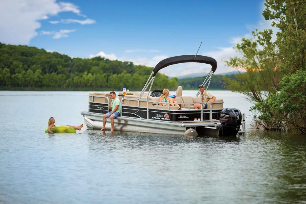 2019 Sun Tracker Party Barge 22 RF DLX in Waco, Texas - Photo 11