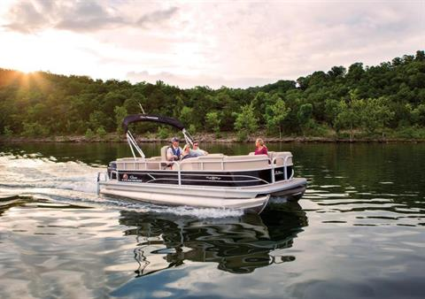 2019 Sun Tracker Party Barge 22 RF DLX in Gaylord, Michigan - Photo 7