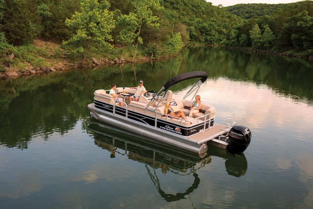 2019 Sun Tracker Party Barge 22 RF DLX in Gaylord, Michigan - Photo 8