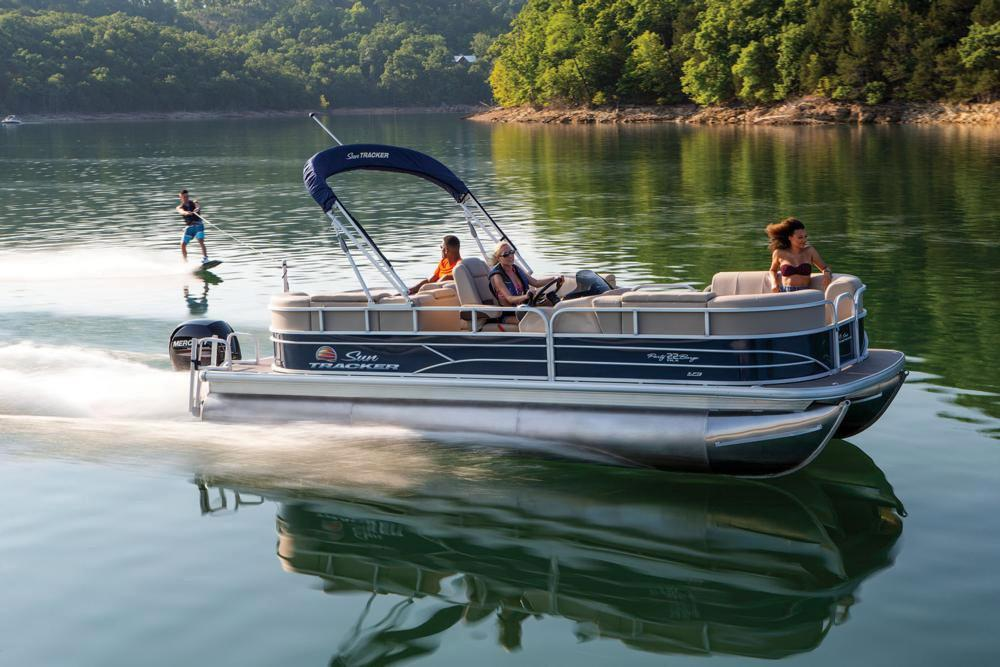 2019 Sun Tracker Party Barge 22 RF XP3 in Waco, Texas - Photo 9