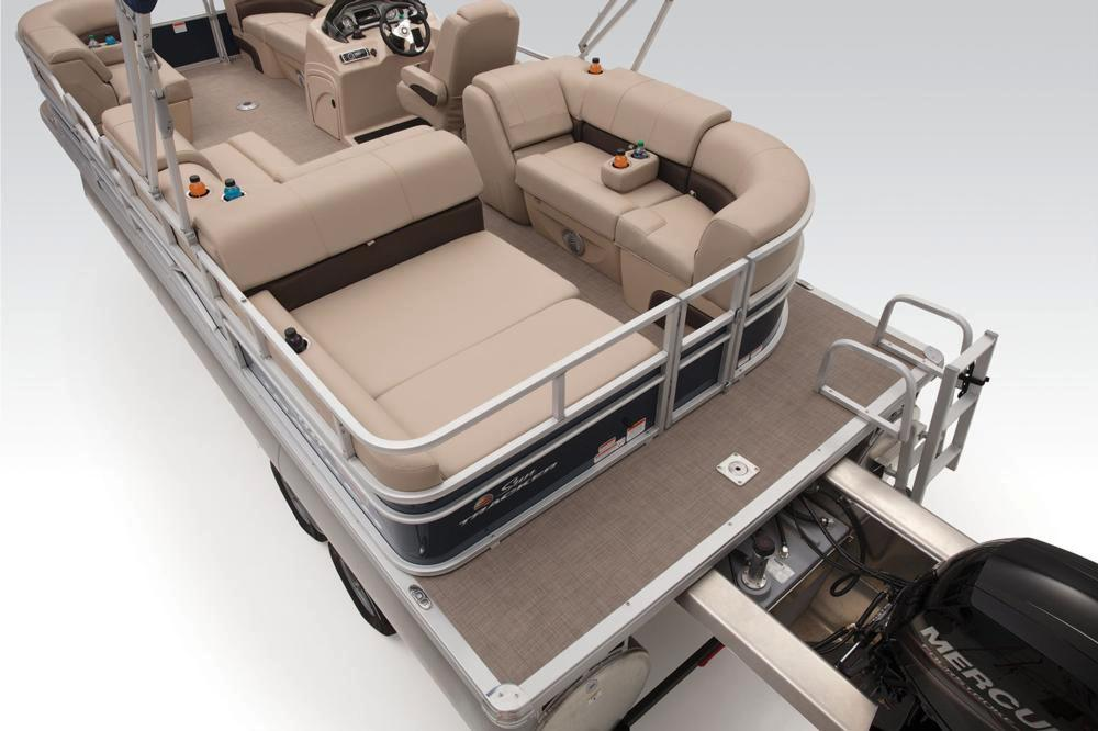 2019 Sun Tracker Party Barge 22 RF XP3 in Waco, Texas - Photo 17