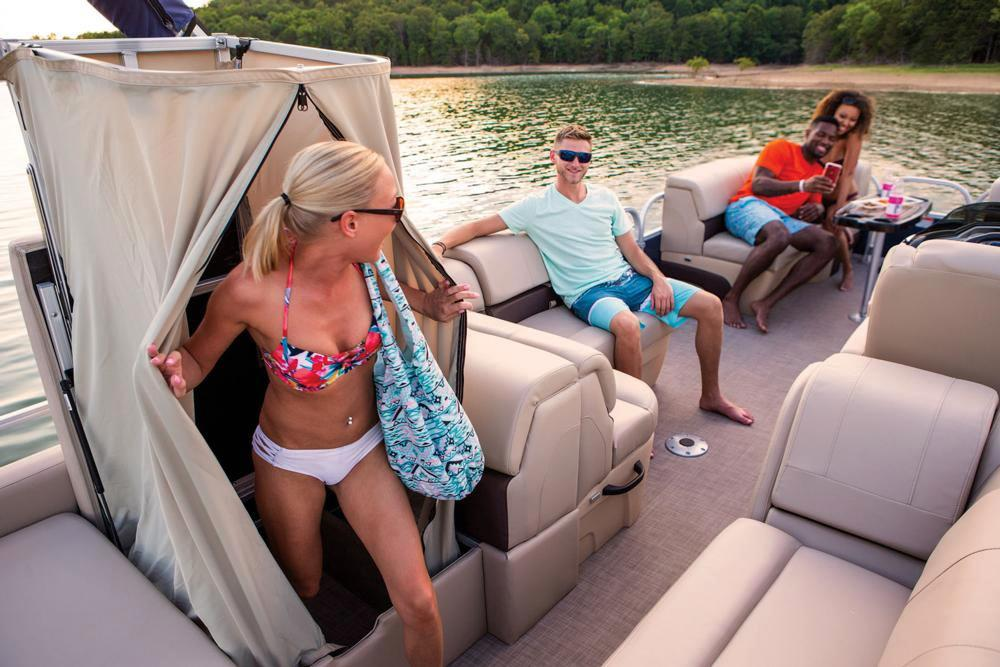 2019 Sun Tracker Party Barge 22 RF XP3 in Waco, Texas - Photo 18
