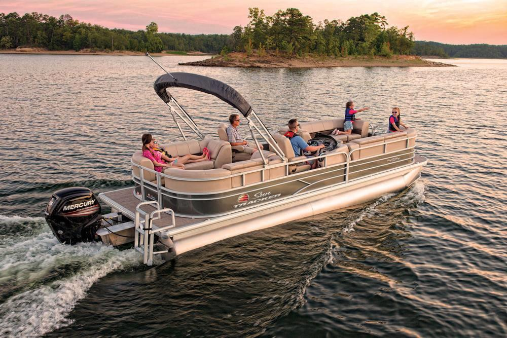 2019 Sun Tracker Party Barge 24 DLX in Gaylord, Michigan - Photo 5