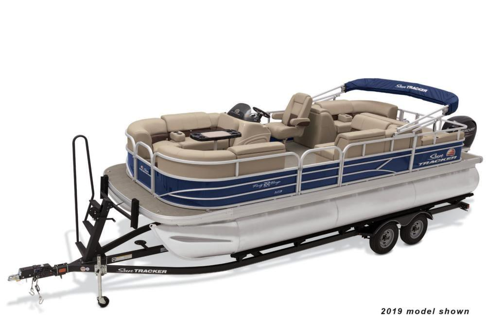 2021 Sun Tracker Party Barge 22 RF XP3 in Appleton, Wisconsin