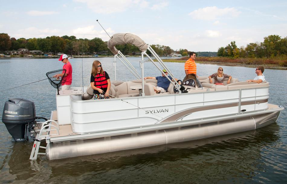2015 Sylvan Mirage Fish 8522 CNF in Fort Worth, Texas