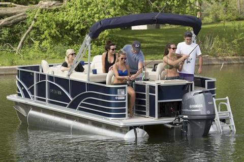 2019 Sylvan Mirage Fish 8520 4-PT in Hutchinson, Minnesota