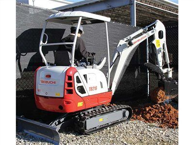 2014 Takeuchi TB216 in Cherry Creek, New York