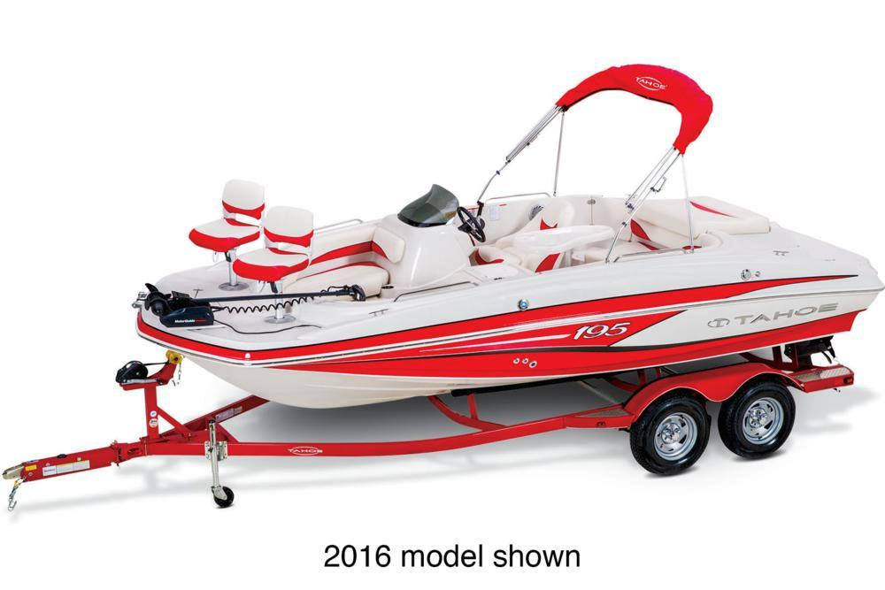 New 2017 Tahoe 195 Power Boats Inboard in Gaylord, MI