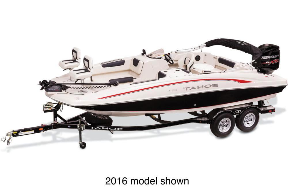 2017 Tahoe 2150 Outboard in Gaylord, Michigan