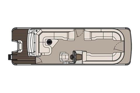 2017 Tahoe Pontoon Cascade Platinum Rear J Lounger - 27' in Osage Beach, Missouri