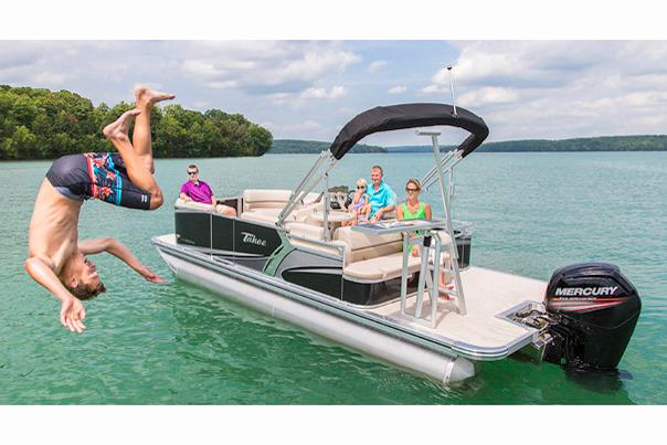 2017 Tahoe Pontoon LTZ CRB - 24' in Osage Beach, Missouri