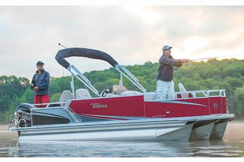 2017 Tahoe Pontoon LTZ Quad Fish - 24' in Osage Beach, Missouri