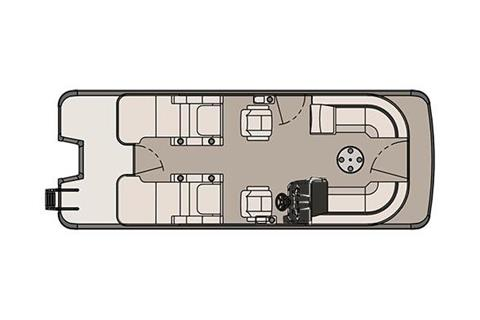 2017 Tahoe Pontoon LTZ Rear Lounge - 24' in Osage Beach, Missouri