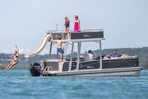 2018 Tahoe Pontoon Cascade Funship - 25' in Osage Beach, Missouri