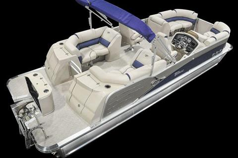 2018 Tahoe Pontoon Cascade Platinum Quad Lounge - 27' in Osage Beach, Missouri