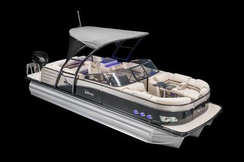 2018 Tahoe Pontoon Cascade Platinum Quad Lounge Windshield - 25' in Osage Beach, Missouri