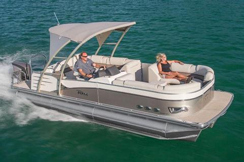 2018 Tahoe Pontoon Cascade Platinum Rear J Lounge - 25' in Osage Beach, Missouri