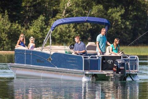 2018 Tahoe Pontoon Cascade Quad Fish - 23' in Osage Beach, Missouri
