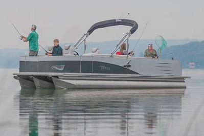 2018 Tahoe Pontoon Cascade Quad Fish - 25' in Osage Beach, Missouri