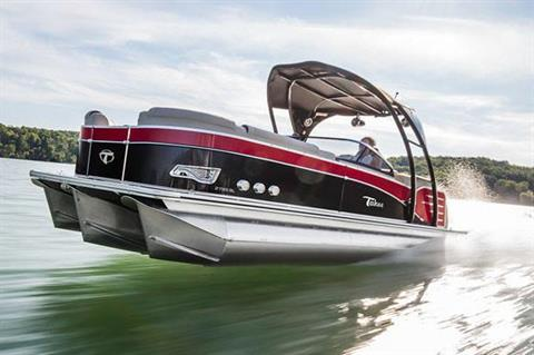 2018 Tahoe Pontoon Cascade Quad Lounge - 27' in Osage Beach, Missouri