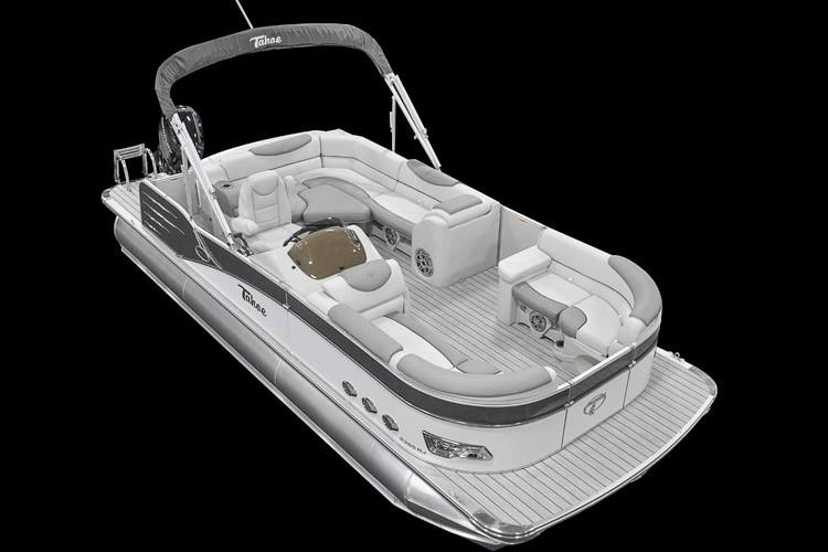 2018 Tahoe Pontoon Cascade Rear J Lounge - 23' in Osage Beach, Missouri