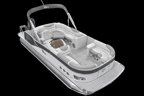 2018 Tahoe Pontoon Cascade Rear J Lounge - 27' in Osage Beach, Missouri