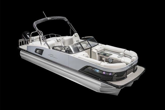 2018 Tahoe Pontoon Grand Tahoe Rear Lounge Windshield 27' in Osage Beach, Missouri