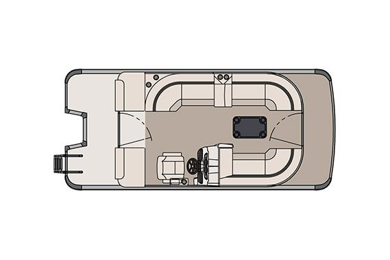 2018 Tahoe Pontoon LTZ Cruise 2 - 20' in Osage Beach, Missouri