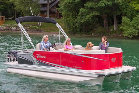2018 Tahoe Pontoon LT Cruise Rear Bench - 18' in Osage Beach, Missouri