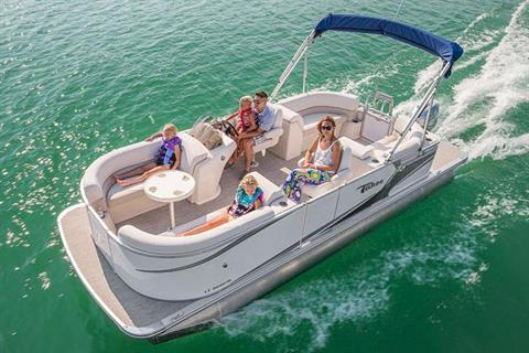 2018 Tahoe Pontoon LT Quad Lounge - 20' in Osage Beach, Missouri