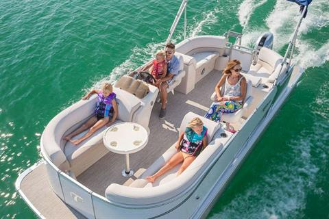 2018 Tahoe Pontoon LT Quad Lounge - 24' in Osage Beach, Missouri