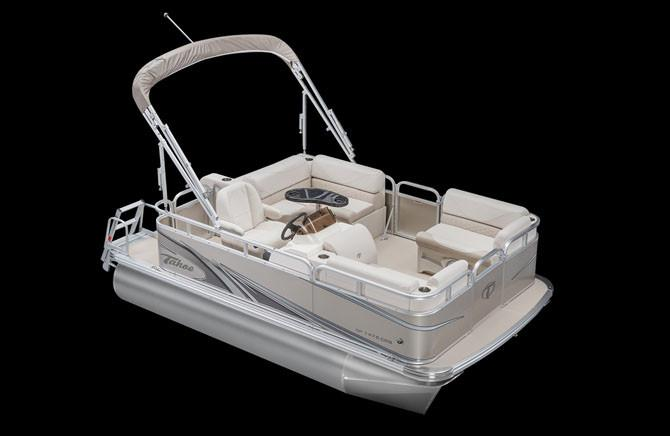 2018 Tahoe Pontoon Sport Cruise Rear Bench - 16' in Osage Beach, Missouri