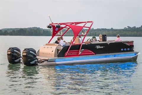 2018 Tahoe Pontoon Vision Rear J Lounge - 27' in Osage Beach, Missouri