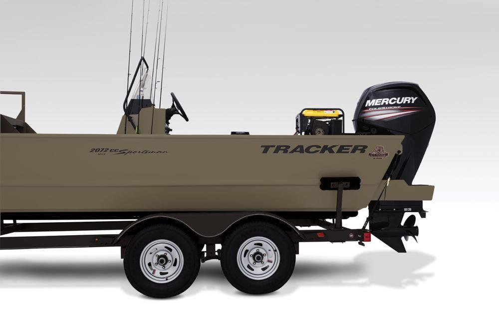 2018 Tracker Grizzly 2072 CC Sportsman in Holiday, Florida