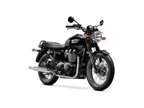 2014 Triumph Bonneville T100 Black in Cleveland, Ohio - Photo 2