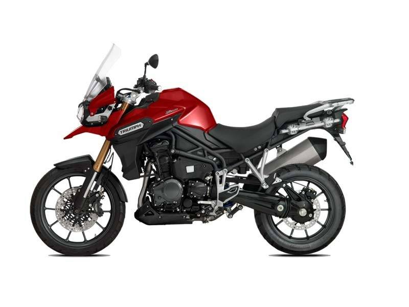 2015 Triumph Tiger Explorer ABS in Dubuque, Iowa