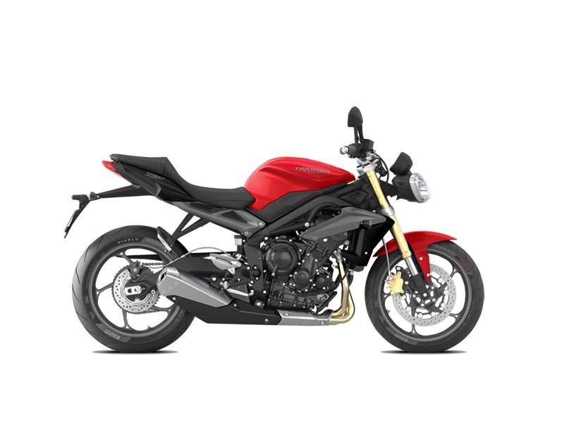 2015 Triumph Street Triple ABS in Dubuque, Iowa