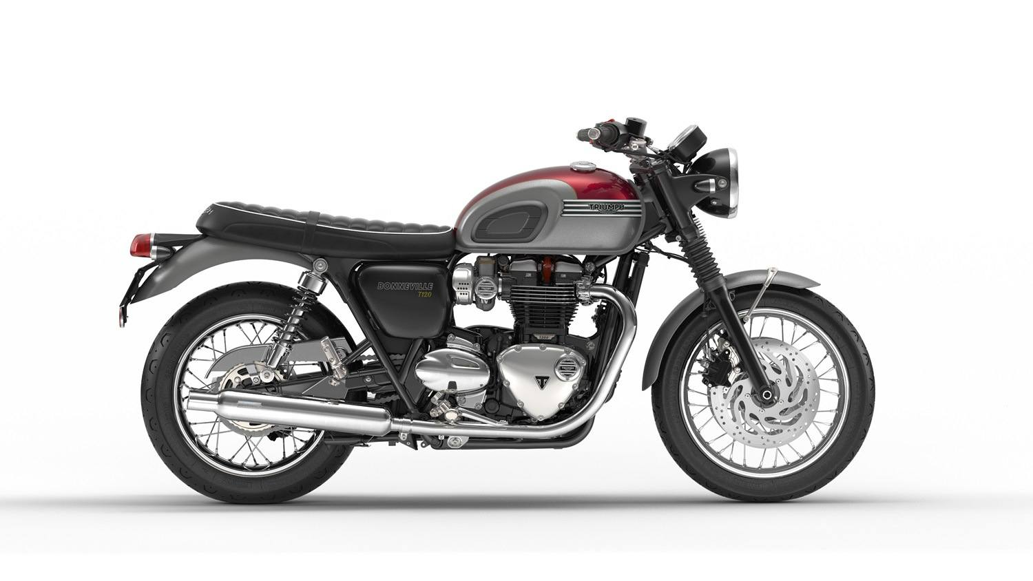 2016 Triumph Bonneville T120 in Port Clinton, Pennsylvania