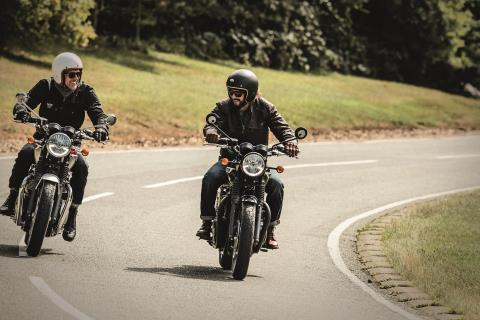 2016 Triumph Bonneville T120 in Greenville, South Carolina