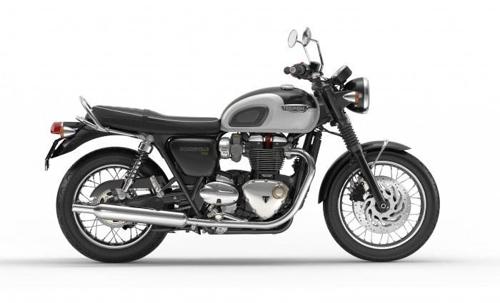 2016 Triumph Bonneville T120 in Dubuque, Iowa