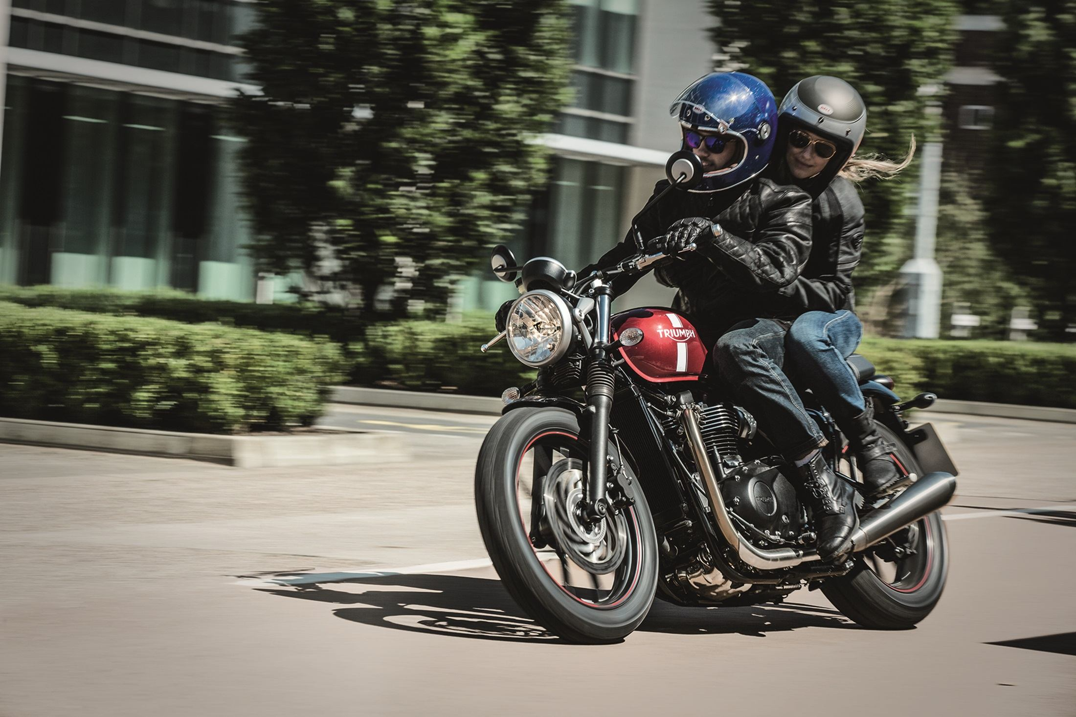 2016 Triumph Street Twin in Dubuque, Iowa
