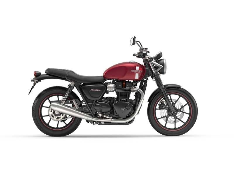 2016 Triumph Street Twin in Port Clinton, Pennsylvania